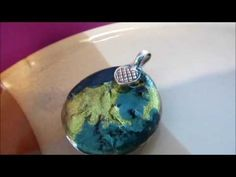 How to make glass pendants and hand made backings and pendant trays - YouTube