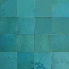 Zellige 10x10 pour les murs de la douche couleur 1015