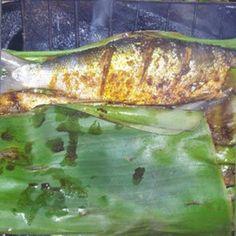 Resep Bandeng Bakar Bumbu Kuning khas Betawi - Bandeng Bakar Bumbu Kuning khas Betawi Recipe