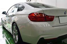 2017/5  BMW 4シリーズ グラン クーペ  コーティングメンテナンス「ライトコース・鉄粉除去」のご依頼でした。クーペスタイル...