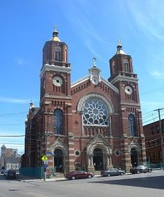 St Stanislaus Kostka in Pittsburgh's strip district