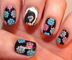 Polish Art Addiction: 31 Day Challenge - Day 14 - Flowers