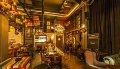 Eclectic Pub in Bucharest Biutiful / Twins Studio