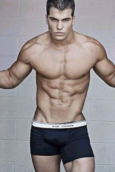 Jed Hill - model from Los Angeles and a former Penn State football player