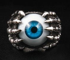 Evil Eye Ring Gothic Jewelry