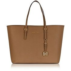 Michael Kors Handbags Jet Set Travel Top Zip Tote