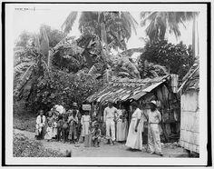 Puerto Rico residents (natives are the Taino's) 1903.