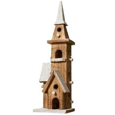 Small prelit church decoration from John Lewis | Country Christmas decorations 2013 | Christmas | PHOTO GALLERY | Housetohome.co.uk