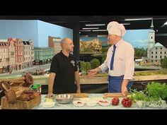 Rączka gotuje - bogracz oraz czorne kluski ze szpyrkami - YouTube Chef Jackets, Youtube, Youtubers, Youtube Movies