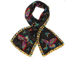 Original Gift Company Pure Silk Scarf, Black, Silk Ideal for dressing up your favourite outfit or to dress up a handbag. (Barcode EAN=5060238940399) http://www.MightGet.com/february-2017-2/original-gift-company-pure-silk-scarf-black-silk.asp