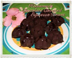 Homemade Chocolate Covered Espresso Beans by My Personal Accent #chocolate #espresso #recipe #homemade #diy
