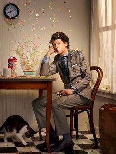 Jesse Eisenberg, photoshoot by Martin Schoeller