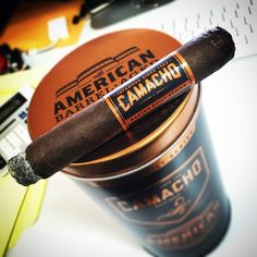 Camacho American Barrel-Aged cigars... Who wants to buy me some of these when they release.