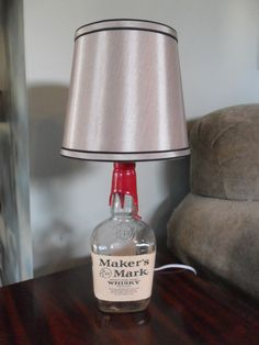 Makers Mark Bottle Lamp - Great For Mancave