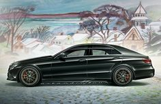 """Sensible and SENSATIONAL! This is my idea of a Mercedes I'd love to see Stuttgart build: An E400TDI-h. For this """"professor's"""" Benz, I've b..."""
