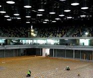 Handball Arena - Jan 2011 Work continues at the London 2012 Handball Arena...    ... following confirmation from the British Olympic Association that Great Britain's men's and women's handball teams will compete in the London 2012 Olympic Games at the London 2012 Handball Arena in the Olympic Park on January 19, 2011 in London, England. © Paul Gilham/Getty Images