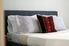 Beginner's Guide to Upholstering a Bed bedroom idea
