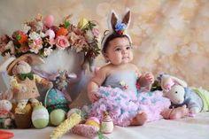 Com a proximidade da Páscoa, Fotógrafo Roni Sanches apresenta galeria de imagens de bebês inspirada na data