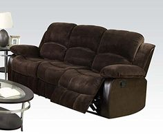 1PerfectChoice Masaccio Brown Champlon PU Reclining Sofa * Learn more by visiting the image link.