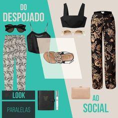 Calça estampada + cropped + rasteirinha = ❤️ #love #instagood #happy #beautifuls #girl #smile #fashion #summer #moda #estilo #instamood #instalove #best #sapatos #sapato