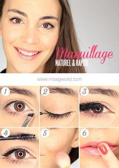 Tuto Maquillage Naturel et Rapide avec Beautiful Box