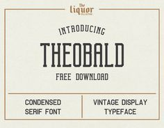 Theobald Clean Free Considered Serif Font