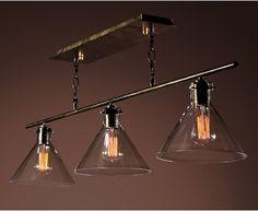 Warehouse of Tiffany Amerie LD-4012 Island Light - Kitchen Island Lighting at Hayneedle