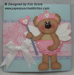 Princess pop up card tutorial designed by Kim Score
