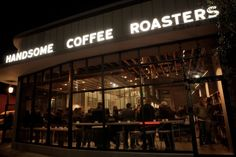 Handsome Coffee Roasters L.A. Flagship Coffee Bar  Hipster Coffee!! LOL