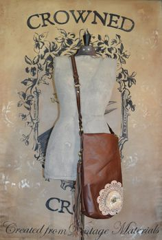 Cross body bag by LUNAARTWORKS on Etsy, $85.00