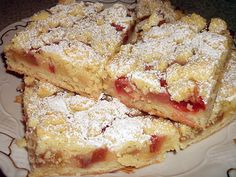 Rhabarberkuchen, ein gutes Rezept aus der Kategorie Kuchen. Bewertungen: 125. Durchschnitt: Ø 4,5.