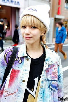 Harajuku fashion icon Una