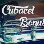 Cubacel Prepaid Bonus Neon Signs, West Indies, Cuba, Action