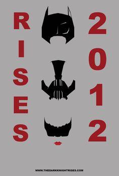 Fan Made DARK KNIGHT RISES Poster