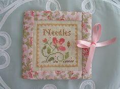 LHN Needlecase:  artful stitching