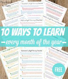 Free Preschool Printables