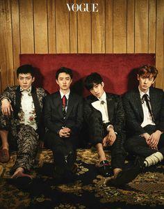 170328 Vogue Korea website update with EXO (8/9) 💞 Cr. @SMent_EXO