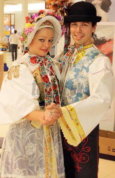 Vajnory village (today part of capital Bratislava), Bratislava region, Western Slovakia. Rare Clothing, Historical Clothing, Folk Clothing, We Are The World, People Around The World, Beautiful World, Beautiful People, European Costumes, Native American Wisdom