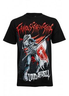 Famous Stars & Straps Loud As Hell T-Shirt | Attitude Clothing