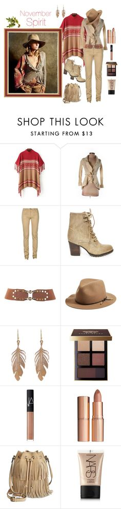 """November Spirit 🦃"" by jbeb ❤ liked on Polyvore featuring Chicnova Fashion, Moth, Monkee Genes, Steve Madden, rag & bone, Annette Ferdinandsen, Bobbi Brown Cosmetics, NARS Cosmetics, Charlotte Tilbury and Patricia Nash"
