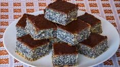 Simple poppy seed cake This is traditional slovak cake. It is easy for preparation and very good. I love it, because this cake preparing my grandma when I was a little girl. Easy Cake Recipes, Sweet Recipes, Dessert Recipes, Desserts, Low Carb Brasil, Poppy Seed Cake, Kolaci I Torte, Homemade Sweets, Ukrainian Recipes