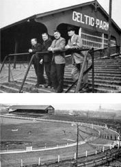 The old Celtic Park. I was born next door to it. I have enjoyed many games… Retro Football, School Football, Glasgow Scotland, Scotland Travel, Football Stadiums, Football Players, Old Firm, Celtic Fc, Old Images