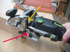 How to Domino a T-join, using the Festool Domino