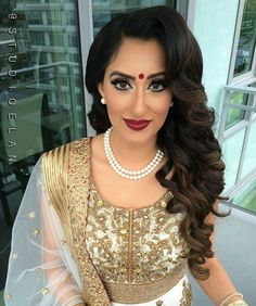 fabulous vancouver wedding A Close up of Rimples hair and makeup for her engagement Hair and Makeup by @studioelan artist Sukhi For bookings and inquires email studio-elan@live.ca or call 604.897.1635 ____________________ #studioelan #hudabeauty #vegas_nay #sabyasachi #bridalhair #indianwedding #sikhwedding #wakeupandmakeup #indianbride #desibride #wedluxe #punjabi #instaa_makeup #manishmalhotra #indian_wedding_inspiration #dressyourface #indianfashion #bridallengha #bridalwear...