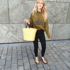 ADORE Jeanette Friis Madsen, Fashion Editor at Costume DK, in Samsøe & Samsøe AW15 Apo o-neck.