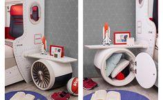 Κομοδίνα για το δωμάτιο των αγοριών με θέμα το αεροπλάνο. Cabinet, Storage, Diy, Furniture, Home Decor, Clothes Stand, Purse Storage, Decoration Home, Bricolage
