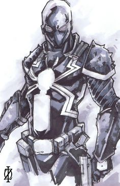Venom Flash Thompson by ChrisOzFulton.deviantart.com on @deviantART