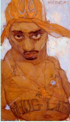 Natalie Ascencios- 2 Pac History Of Illustration, Illustration Art, Thug Life, Face Art, Figure Drawing, Art Forms, Illustrators, Paintings, Artists