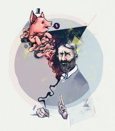Max Weber / Tecnópolis 2013 by I . D .  V ., via Behance