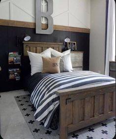 Boys Bedroom Furniture, Boys Bedroom Decor, Bedroom Ideas, Bed Ideas, Bedroom Designs, Furniture Ideas, Big Boy Bedrooms, Diy Décoration, Modern Bedroom
